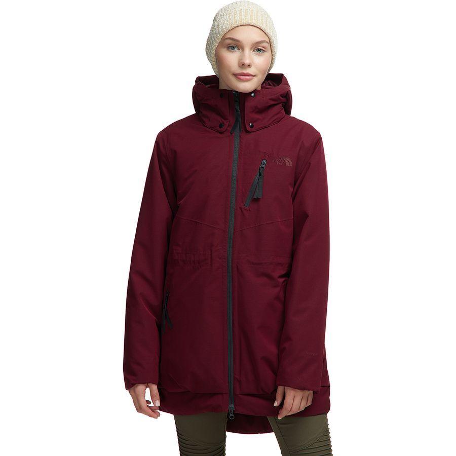 (取寄)ノースフェイス レディース ミレニア インサレーテッド ジャケット The North Face Women Millenia Insulated Jacket Deep Garnet Red
