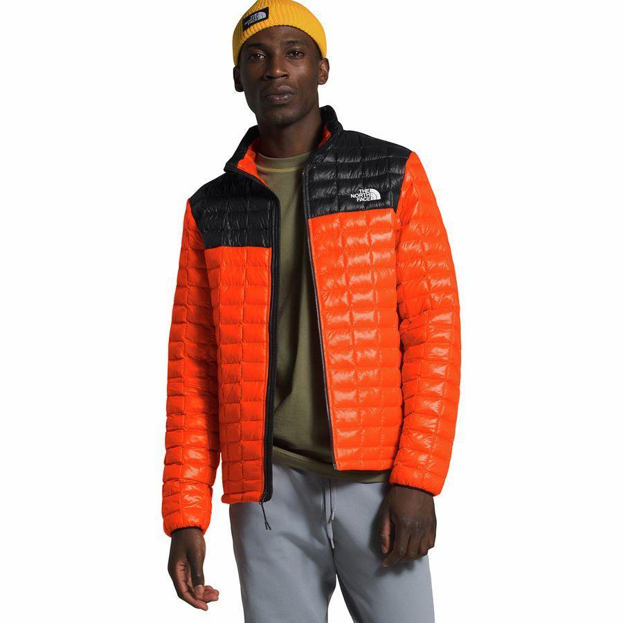 【エントリーでポイント10倍】(取寄)ノースフェイス メンズ サーモボール エコ ジャケット The North Face Men's Thermoball Eco Jacket Persian Orange