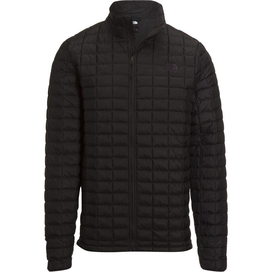 【エントリーでポイント10倍】(取寄)ノースフェイス メンズ サーモボール エコ トール ジャケット The North Face Men's Thermoball Eco Tall Jacket Tnf Black Matte