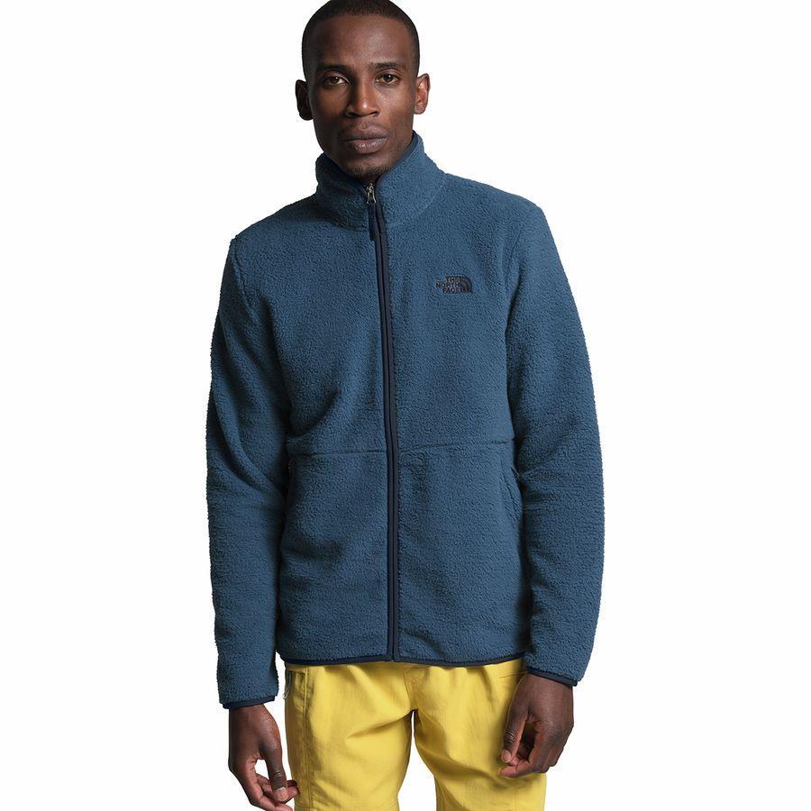 【エントリーでポイント10倍】(取寄)ノースフェイス メンズ ダンレイヴン シェルパ フルジップ ジャケット The North Face Men's Dunraven Sherpa Full-Zip Jacket Shady Blue