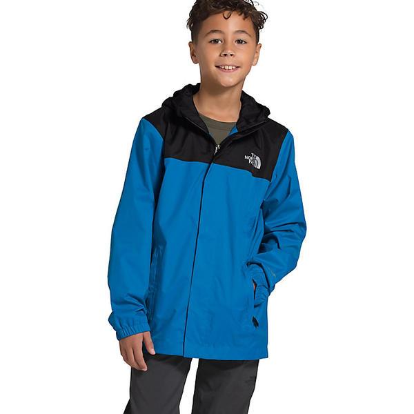 【エントリーでポイント10倍】(取寄)ノースフェイス ボーイズ リゾルブ リフレクティブ ジャケット The North Face Boys' Resolve Reflective Jacket Clear Lake Blue