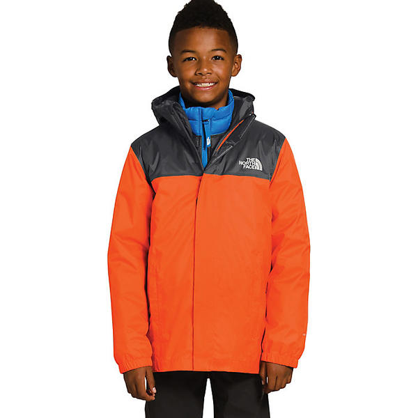 (取寄)ノースフェイス ボーイズ リゾルブ リフレクティブ ジャケット The North Face Boys' Resolve Reflective Jacket Persian Orange