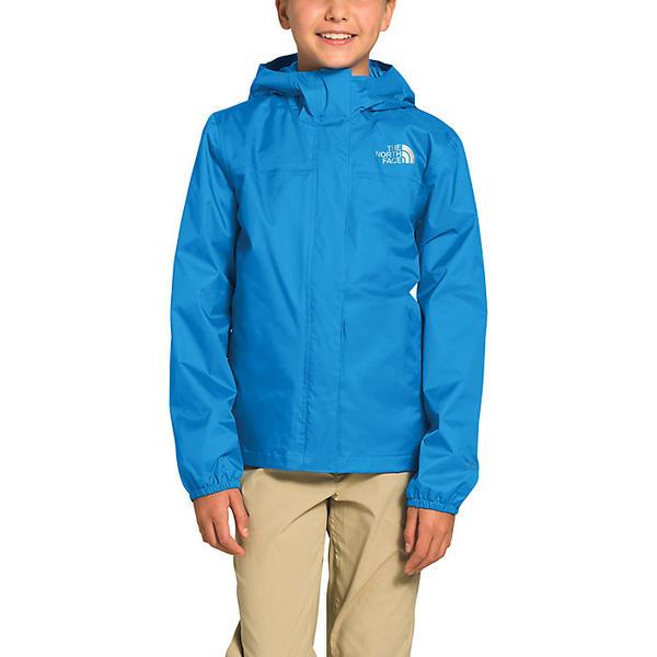 【エントリーでポイント10倍】(取寄)ノースフェイス ガールズ リゾルブ リフレクティブ ジャケット The North Face Girls' Resolve Reflective Jacket Clear Lake Blue
