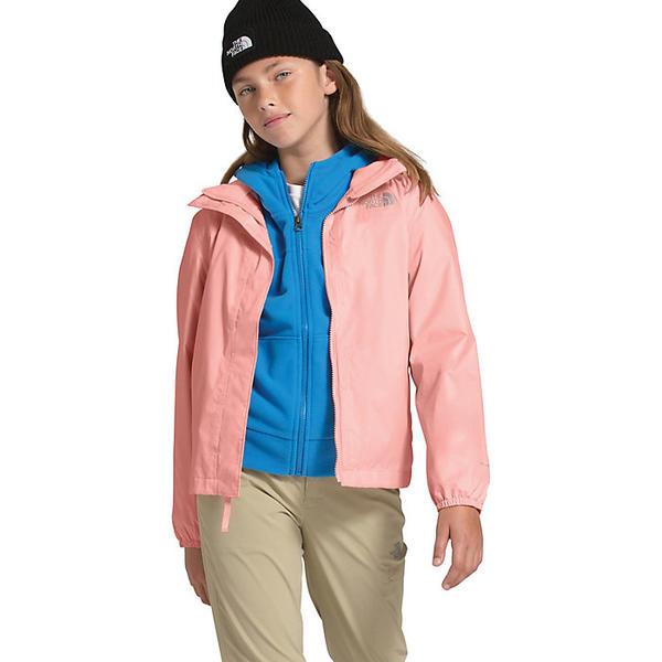 (取寄)ノースフェイス ガールズ リゾルブ リフレクティブ ジャケット The North Face Girls' Resolve Reflective Jacket Impatiens Pink