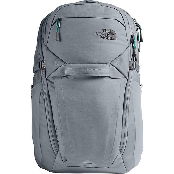 (取寄)ノースフェイス ルーター バックパック The North Face Router Backpack Mid Grey Dark Heather / Fanfare Green