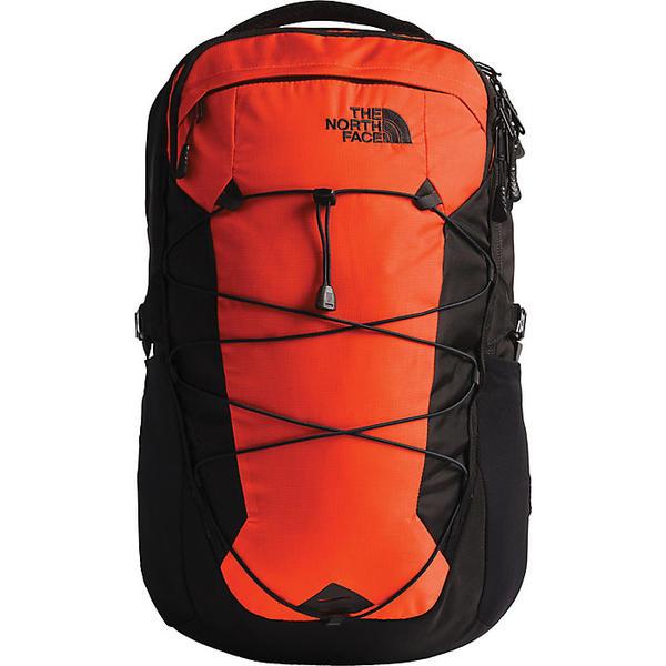 (取寄)ノースフェイス ボレアリス バックパック The North Face Borealis Backpack Persian Orange Ripstop / TNF Black