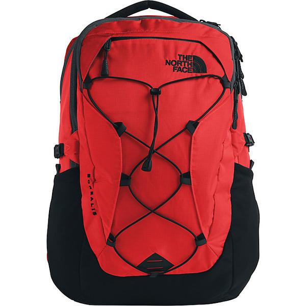 (取寄)ノースフェイス レディース ボレアリス バックパック The North Face Women's Borealis Backpack Fiery Red Ripstop / TNF Black