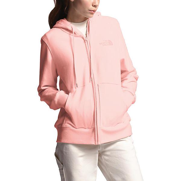 (取寄)ノースフェイス レディース ライトウェイト トライブレンド フル ジップ フーディ The North Face Women's Lightweight Tri-Blend Full Zip Hoodie Impatiens Pink Heather