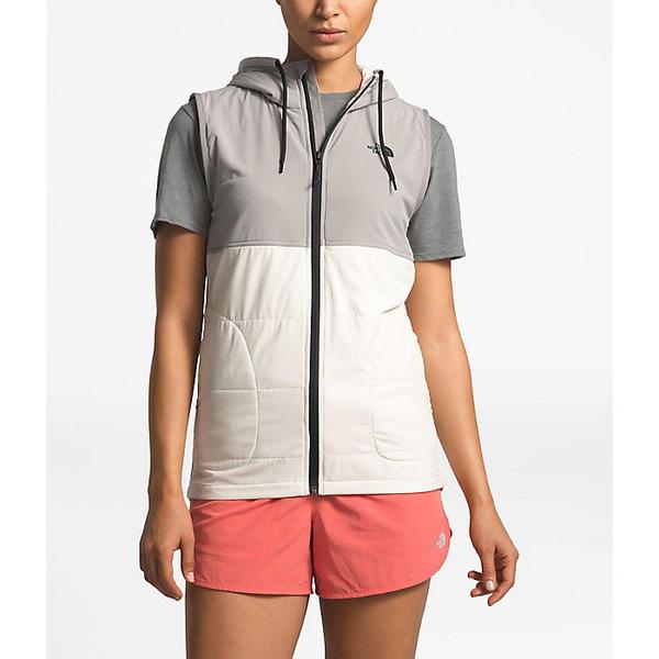 (取寄)ノースフェイス レディース マウンテン スウェットシャツ ベスト The North Face Women's Mountain Sweatshirt Vest Silt Grey / Vintage White