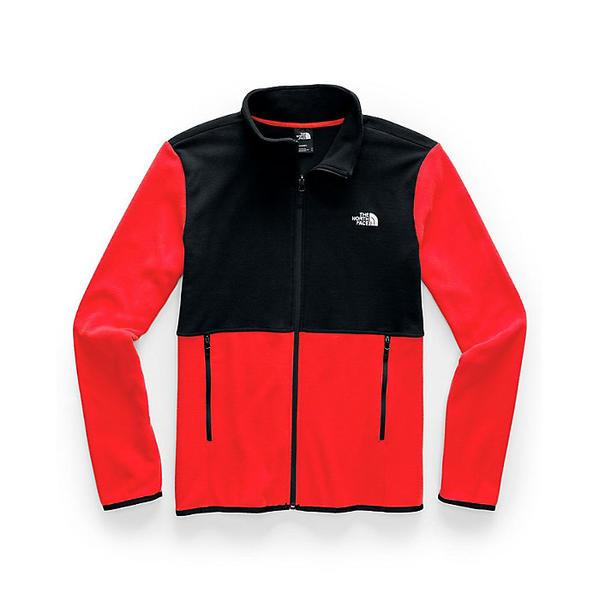 (取寄)ノースフェイス メンズ TKA グレイシャー フル ジップ ジャケット The North Face Men's TKA Glacier Full Zip Jacket Fiery Red / TNF Black