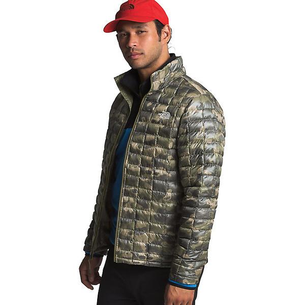 (取寄)ノースフェイス メンズ サーモボール エコ ジャケット The North Face Men's ThermoBall Eco Jacket Burnt Olive Green Ponderosa Print