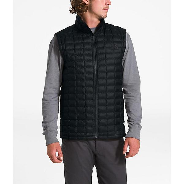 (取寄)ノースフェイス メンズ サーモボール エコ ベスト The North Face Men's ThermoBall Eco Vest TNF Black Matte