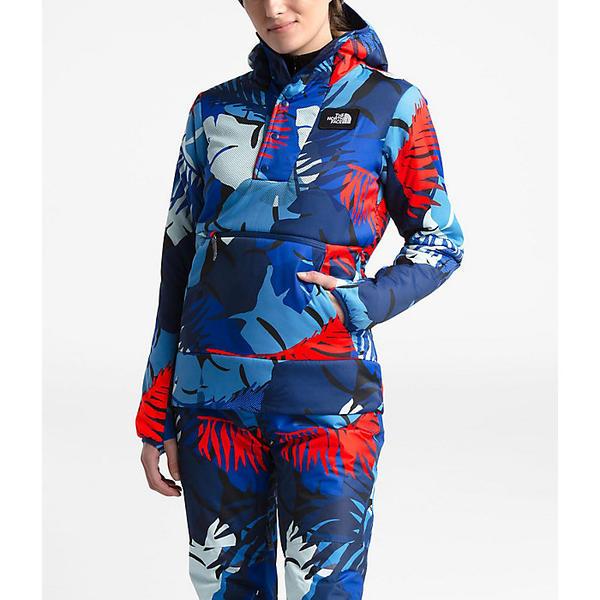 (取寄)ノースフェイス レディース フォールバック フーディ The North Face Women's Fallback Hoodie Flag Blue Palms Print