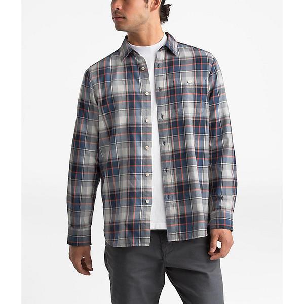 (取寄)ノースフェイス メンズ ヘイデン パス 2.0 LS シャツ The North Face Men's Hayden Pass 2.0 LS Shirt Shady Blue Rogan Plaid
