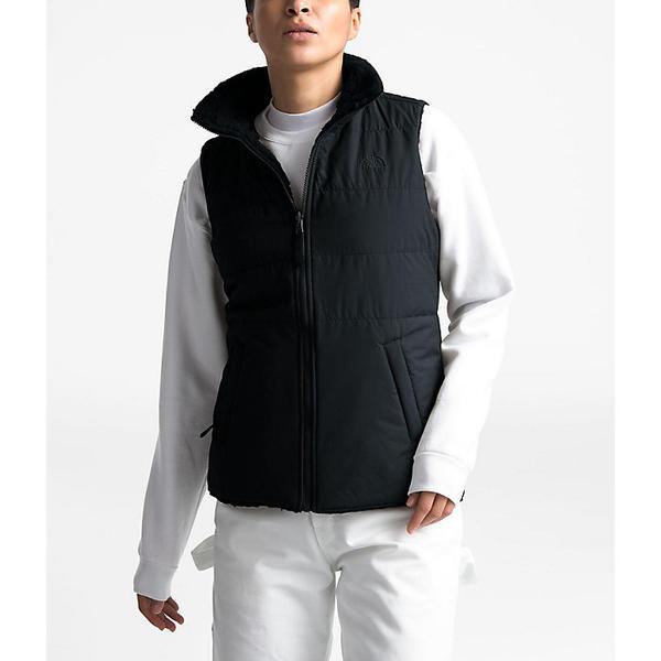 (取寄)ノースフェイス レディース メリウウッド リバーシブル ベスト The North Face Women's Merriewood Reversible Vest TNF Black