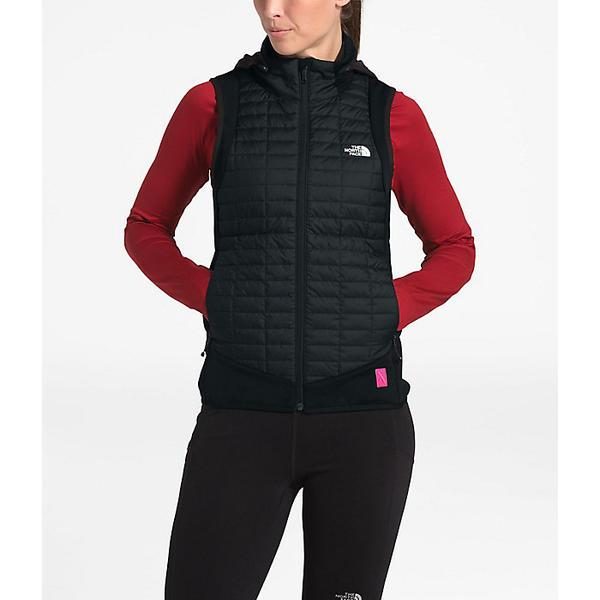 (取寄)ノースフェイス レディース PR サーモボール ハイブリット ベスト The North Face Women's PR ThermoBall Hybrid Vest TNF Black