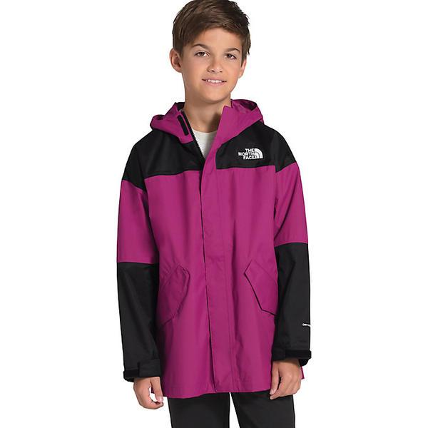 (取寄)ノースフェイス ユース バワリー エクスプローラー ジャケット The North Face Youth Bowery Explorer Jacket Wild Aster Purple