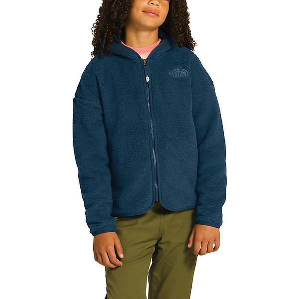 (取寄)ノースフェイス ガールズ キャンプレイヤー フリース フーディ The North Face Girls' Camplayer Fleece Hoodie Blue Wing Teal