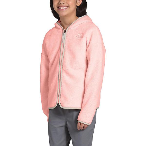 (取寄)ノースフェイス ガールズ キャンプレイヤー フリース フーディ The North Face Girls' Camplayer Fleece Hoodie Impatiens Pink