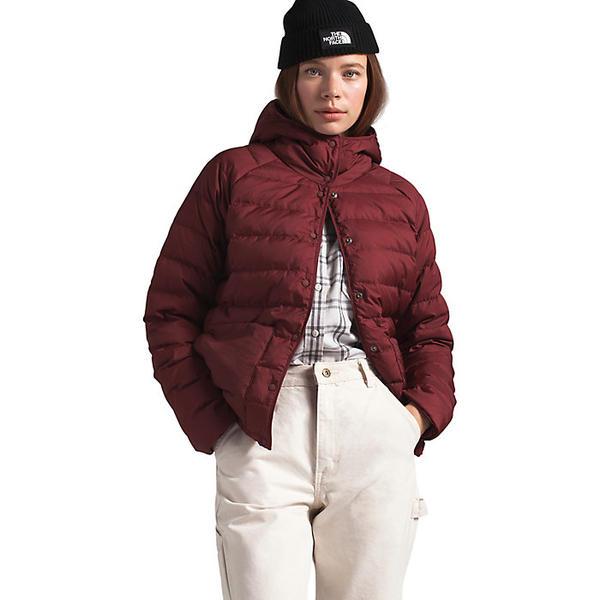 (取寄)ノースフェイス レディース リーフライン ライトウェイト インスレート ジャケット The North Face Women's Leefline Lightweight Insulated Jacket Barolo Red