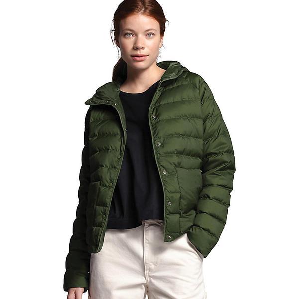 (取寄)ノースフェイス レディース リーフライン ライトウェイト インスレート ジャケット The North Face Women's Leefline Lightweight Insulated Jacket English Green