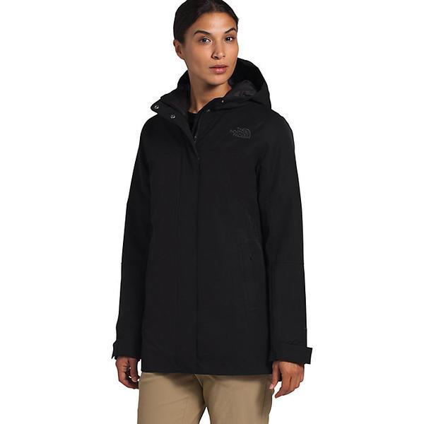 (取寄)ノースフェイス レディース メンロー インスレート パーカー The North Face Women's Menlo Insulated Parka TNF Black