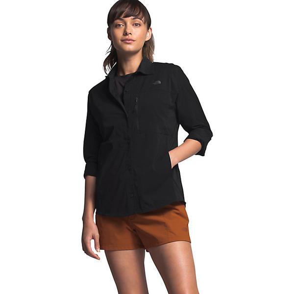 (取寄)ノースフェイス レディース アウトドア トレイル LS シャツ The North Face Women's Outdoor Trail LS Shirt TNF Black