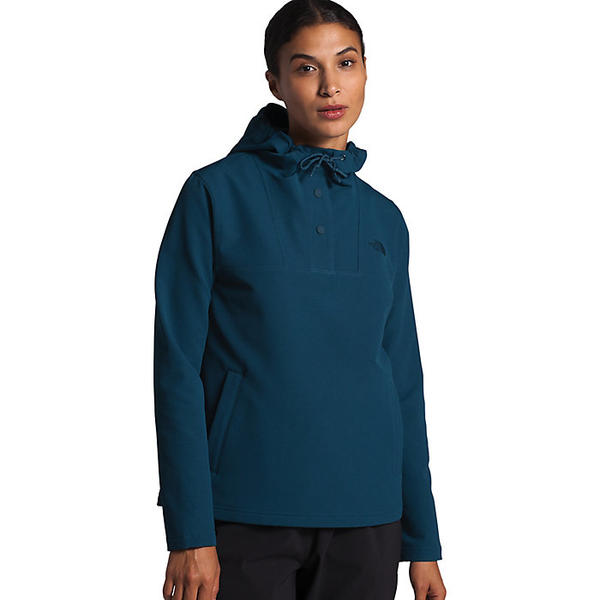 (取寄)ノースフェイス レディース テクノ リッジ プルオーバー フーディ The North Face Women's Tekno Ridge Pullover Hoodie Blue Wing Teal