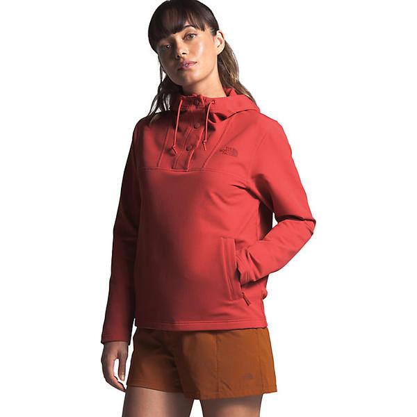 (取寄)ノースフェイス レディース テクノ リッジ プルオーバー フーディ The North Face Women's Tekno Ridge Pullover Hoodie Sunbaked Red