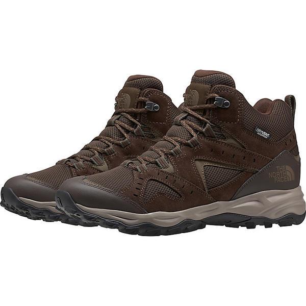(取寄)ノースフェイス メンズ トレイル エッジ ミッド ウォータープルーフ シューズ The North Face Men's Trail Edge Mid Waterproof Shoe Demitasse Brown / Bipartisan Brown