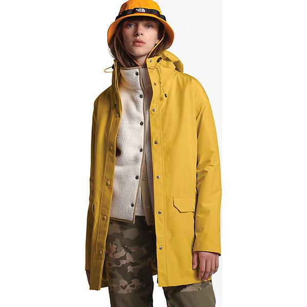 (取寄)ノースフェイス レディース ウッドモント レイン ジャケット The North Face Women's Woodmont Rain Jacket Bamboo Yellow