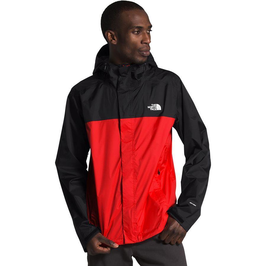 (取寄)ノースフェイス メンズ ベンチャー 2 フーデッド ジャケット The North Face Men's Venture 2 Hooded Jacket Fiery Red/Tnf Black/Tnf White