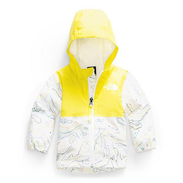 (取寄)ノースフェイス インファント ジップライン レイン ジャケット The North Face Infant Zipline Rain Jacket TNF White Little Yose Print