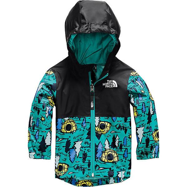 (取寄)ノースフェイス トドラー ジップライン レイン ジャケット The North Face Toddlers' Zipline Rain Jacket Jaiden Green Happy Campy Print