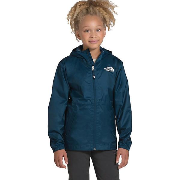 (取寄)ノースフェイス ユース ジップライン レイン ジャケット The North Face Youth Zipline Rain Jacket Blue Wing Teal