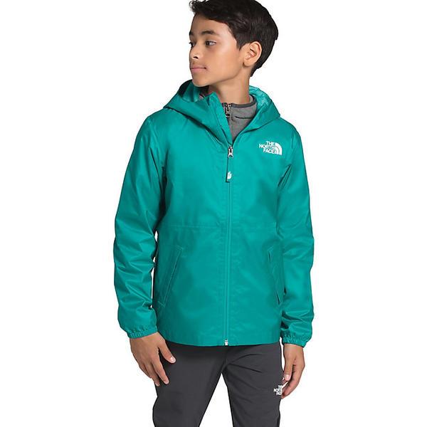 (取寄)ノースフェイス ユース ジップライン レイン ジャケット The North Face Youth Zipline Rain Jacket Jaiden Green