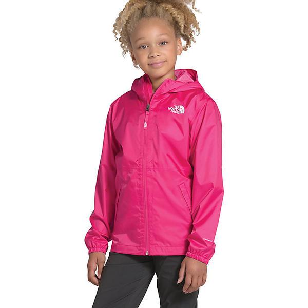 【エントリーでポイント10倍】(取寄)ノースフェイス ユース ジップライン レイン ジャケット The North Face Youth Zipline Rain Jacket Mr. Pink
