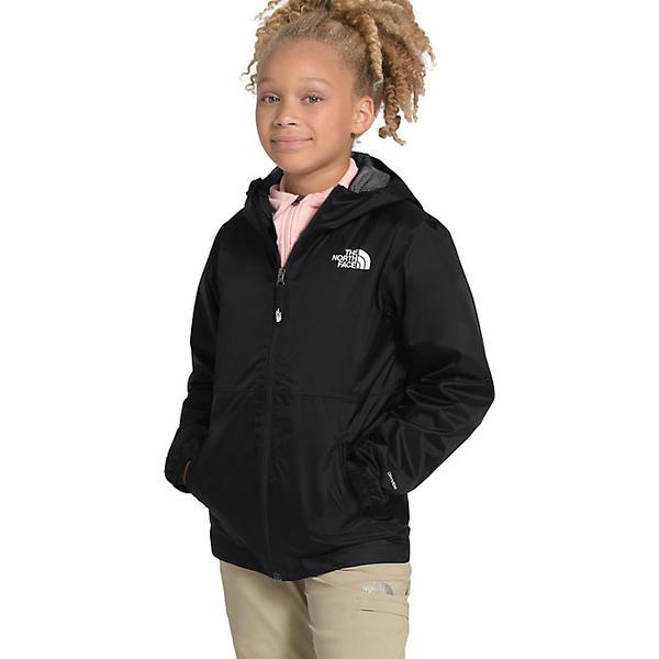 (取寄)ノースフェイス ユース ジップライン レイン ジャケット The North Face Youth Zipline Rain Jacket TNF Black