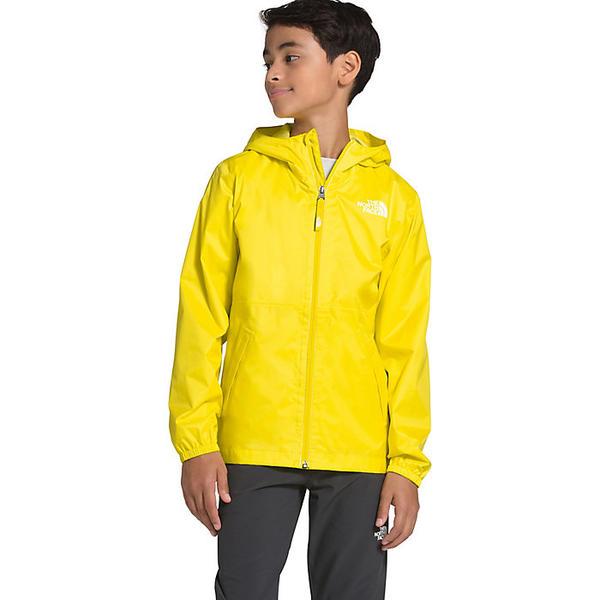 (取寄)ノースフェイス ユース ジップライン レイン ジャケット The North Face Youth Zipline Rain Jacket TNF Lemon