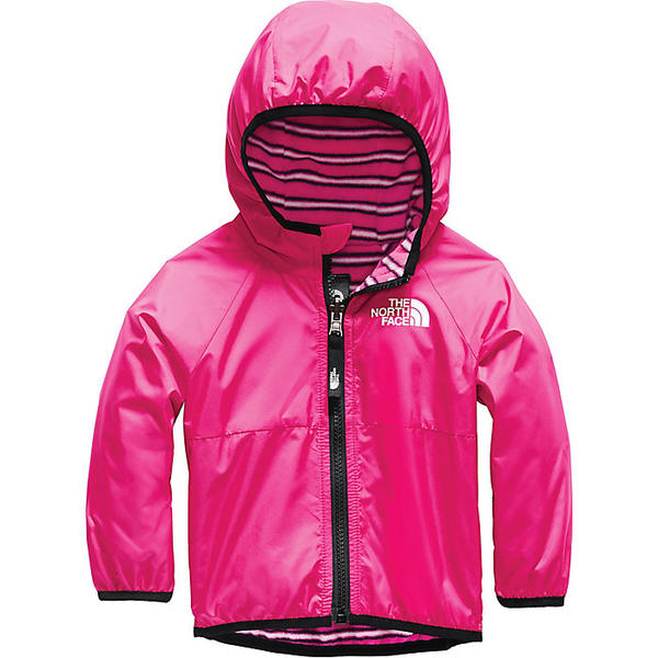 【エントリーでポイント10倍】(取寄)ノースフェイス インファント リバーシブル ブリーズウェイ ウィンド ジャケット The North Face Infant Reversible Breezeway Wind Jacket Mr. Pink