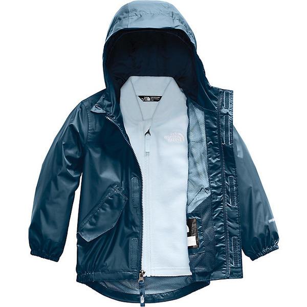 (取寄)ノースフェイス トドラー ストーミー レイン トリクライメイト ジャケット The North Face Toddlers' Stormy Rain Triclimate Jacket Blue Wing Teal