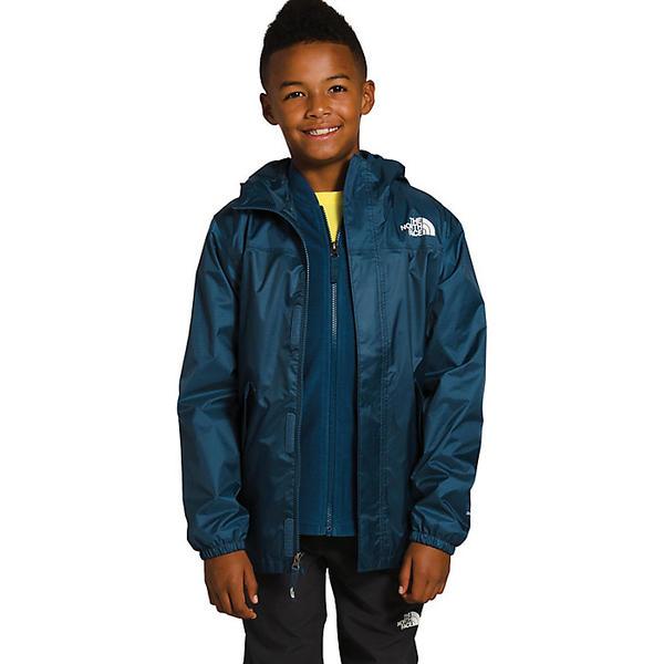 【エントリーでポイント10倍】(取寄)ノースフェイス ユース ストーミー レイン トリクライメイト The North Face Youth Stormy Rain Triclimate Blue Wing Teal