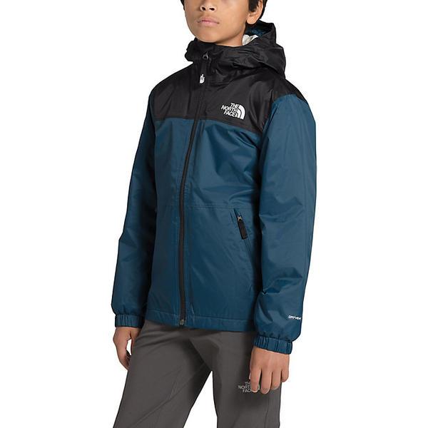 (取寄)ノースフェイス ボーイズ ウォーム ストーム レイン ジャケット The North Face Boys' Warm Storm Rain Jacket Blue Wing Teal