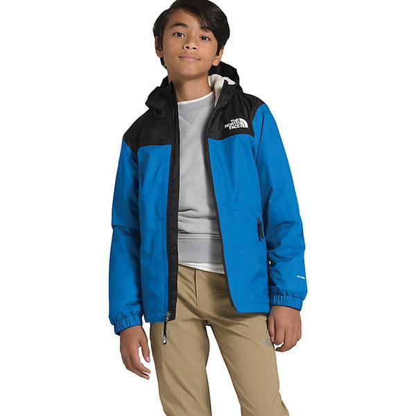 【エントリーでポイント10倍】(取寄)ノースフェイス ボーイズ ウォーム ストーム レイン ジャケット The North Face Boys' Warm Storm Rain Jacket Clear Lake Blue