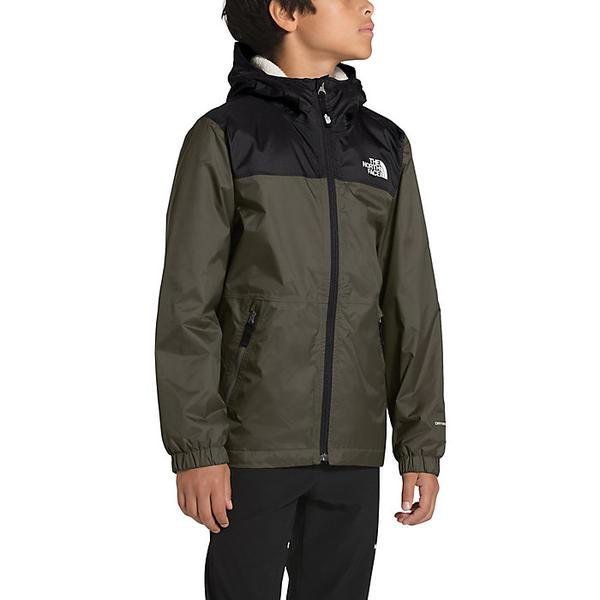 (取寄)ノースフェイス ボーイズ ウォーム ストーム レイン ジャケット The North Face Boys' Warm Storm Rain Jacket New Taupe Green