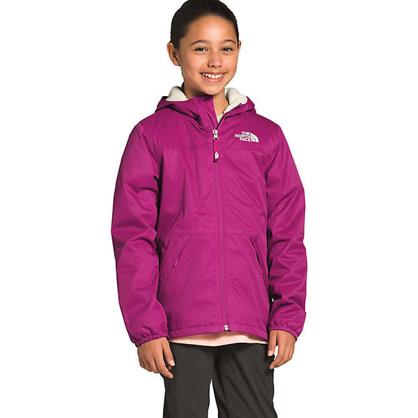 (取寄)ノースフェイス ガールズ ウォーム ストーム レイン ジャケット The North Face Girls' Warm Storm Rain Jacket Wild Aster Purple