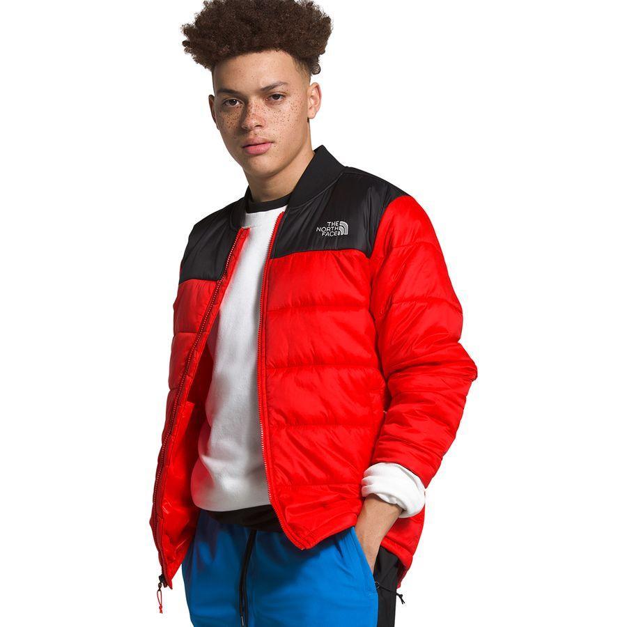 【エントリーでポイント10倍】(取寄)ノースフェイス メンズ パーディー ジャケット The North Face Men's Pardee Jacket Fiery Red/Tnf Black
