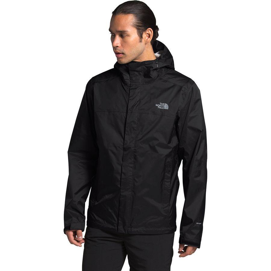 (取寄)ノースフェイス メンズ ベンチャー 2 フーデッド ジャケット The North Face Men's Venture 2 Hooded Jacket TNF Black/TNF Black/Mid Grey