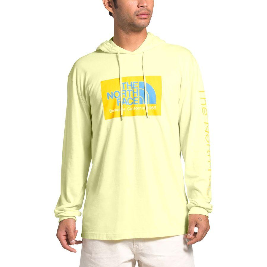 【エントリーでポイント10倍】(取寄)ノースフェイス メンズ 66カリフォルニア TB プルオーバー パーカー The North Face Men's 66 California TB Hoodie Pullover Tender Yellow Heather