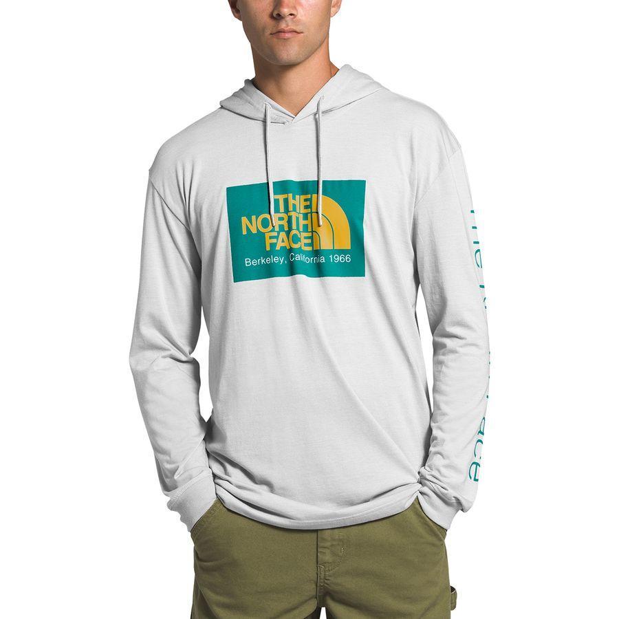 (取寄)ノースフェイス メンズ 66カリフォルニア TB プルオーバー パーカー The North Face Men's 66 California TB Hoodie Pullover Tnf Light Grey Heather